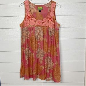 Tracy Porter Pink Embellished Dress in a Size 8-10